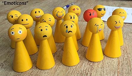 Figuren mit Gefühlsausdrücke